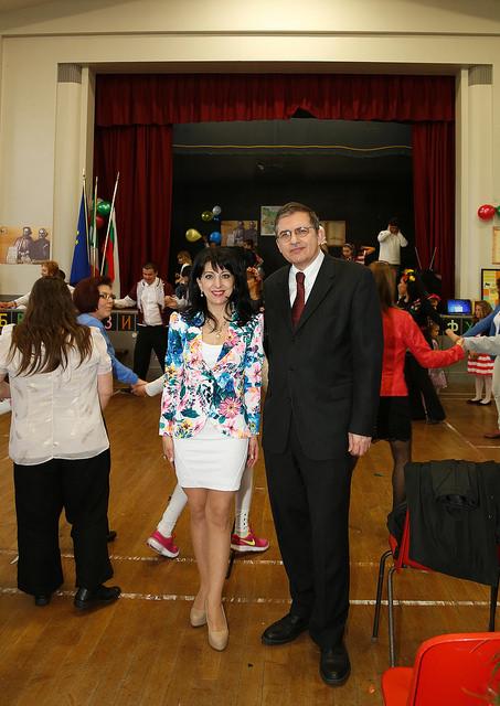 Нашият Посланик н.пр. Бранимир Заимов и г-жа Зорница Гоган