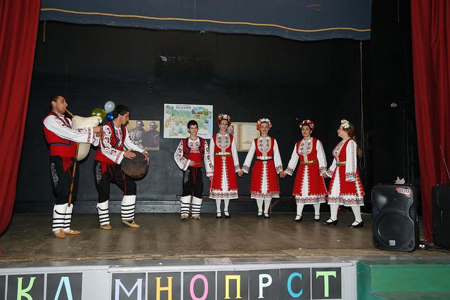 """Клуб за народни танци """"Чемшир"""", Арма, Северна Ирландия"""